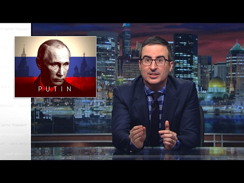 Putin Last Week Tonight with John Oliver HBO