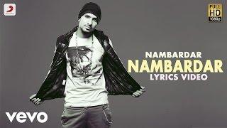 Nambardar - Nambardar | Da Future | Lyric Video