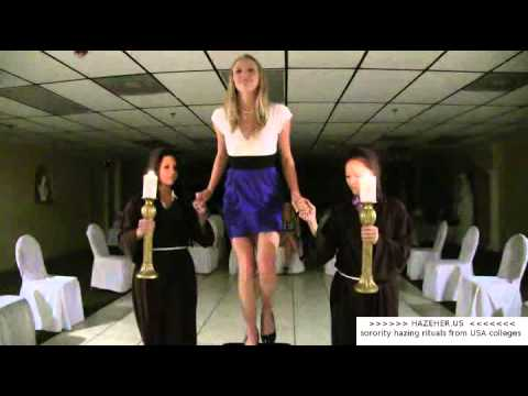 college sorority girls in hazing ritual hazeher