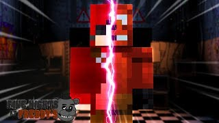 Minecraft FIVE NIGHTS AT FREDDY'S - FOXY GETS TURNED INTO A REAL LIFE HUMAN!!!!