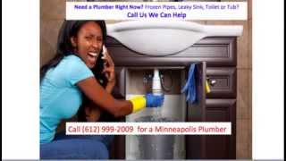 Minneapolis MN Plumber 612-99-2009