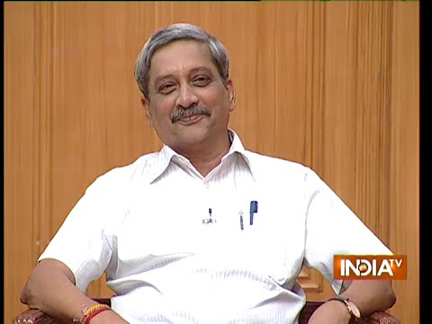 Xxx Mp4 Defence Minister Manohar Parrikar In Aap Ki Adalat Full Episode 3gp Sex