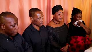 THE WOMAN AND DAUGHTER WHO WERE MURDERED BY HER OWN SON BURIAL SERVICE