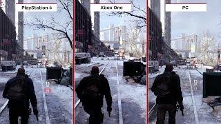 Tom Clancy's The Division Final Graphics Comparison PC vs. PS4 vs. Xbox One