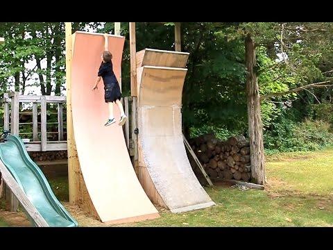 Kids Warped Wall 11 Foot Edition