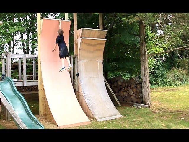 Kids Warped Wall, 11 Foot Edition