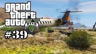 GTA 5 - Caida Libre (Lets Play #39) Grand Theft Auto Let´s Play