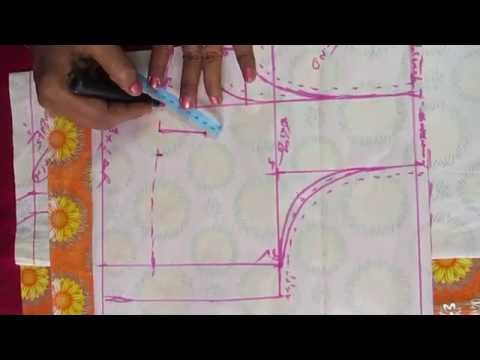 How to measure body for blouse in telugu