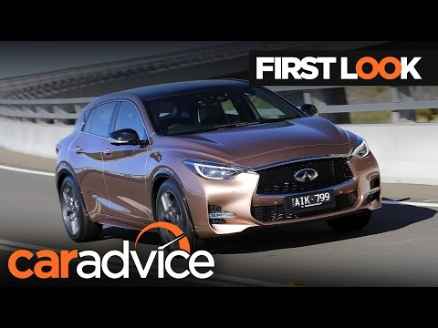 2017 Infiniti Q30 - First look review | CarAdvice