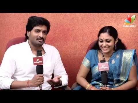 Senthil and Sreeja : Fans got us to marry   Saravanan Meenakshi   Love Story