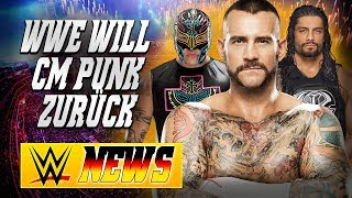 WWE will CM Punk zurück, Roman Reigns Push vorbei | WWE NEWS 53/2017
