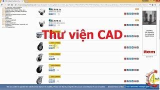 Thư viện CAD 2D/3D -  Download miễn phí