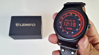 LEMFO LEF1 Smartwatch Review - ANDROID - QUAD CORE - 8GB - AMOLED