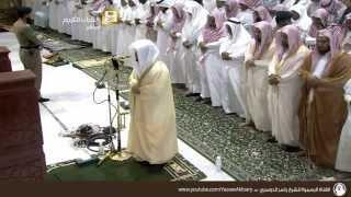 (مقطع لن ينساه التاريخ )  الشيخ ياسر الدوسري في أول تلاوة له بالمسجد الحرام .