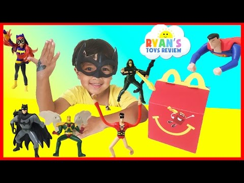 MCDONALD S HAPPY MEAL TOY SURPRISE FULL SET 2016 Justice League and DC SuperHero Girls