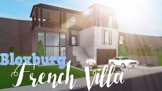 Bloxburg: Modern French Villa 41k