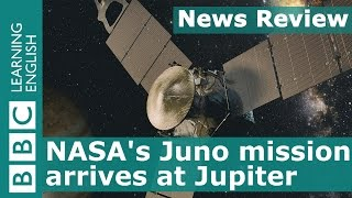 BBC News Review: Welcome to Jupiter