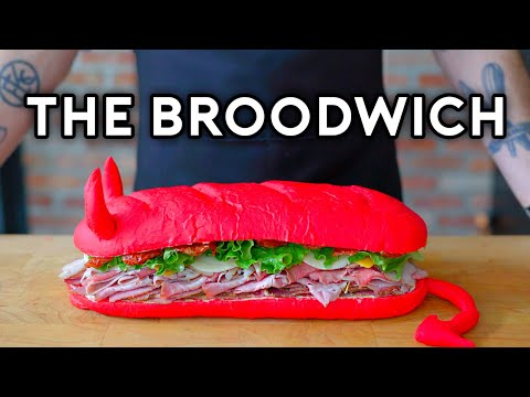 Binging with Babish The Broodwich from Aqua Teen Hunger Force