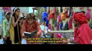 Billu Barber, Billo Bhayankar, subtitulado en español e hindi