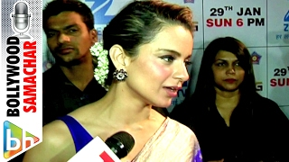 Kangana Ranaut Slaps A Reporter In A Fun Way