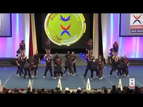 watch Team USA -  Coed Premier ICU 2014 Cheerleading Championships