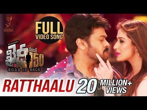 Xxx Mp4 Ratthaalu Full Video Song Chiranjeevi Kajal Aggarwal V V Vinayak Rockstar DSP 3gp Sex