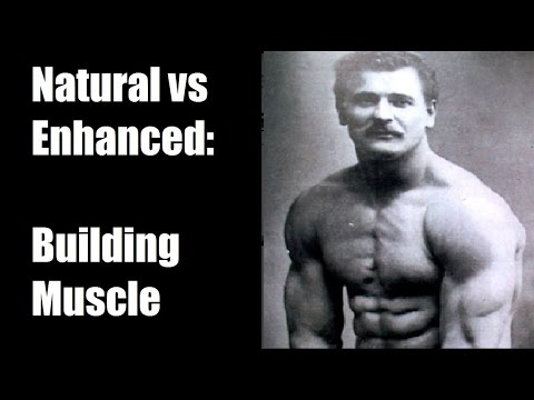Natty vs Enhanced (Steroids): Building Muscle