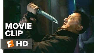 Police Story: Lockdown Movie CLIP - Knife Fight at Wu Bar (2015) - Jackie Chan Action Movie HD