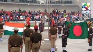 Petrapole border parade between INDIA & BANGLADESH BSF & BDR