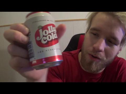 Kristofer Tasting jolly cola BOR NYDES AFKOLET STIMULERENDE FORFRISKENDE