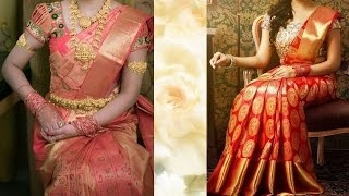 3 Gorgeous Ways To Wear Wedding South Indian Silk Saree With Thin Perfect Pleats| Look Sli