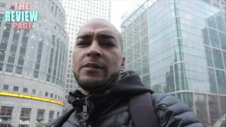 POLICE HARASSMENT AT CANARY WHARF LONDON