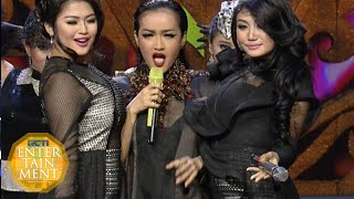 Julia Perez ft Duo Serigala - 'Merana' 'Abang Goda' [Ami Awards18th 2015] [22 09 2015]
