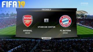 FIFA 19 - Arsenal vs. FC Bayern München (Pre-Season)