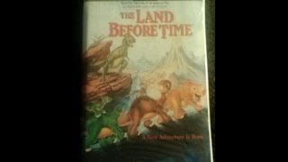 Opening To The Land Before Time 1998 VHS