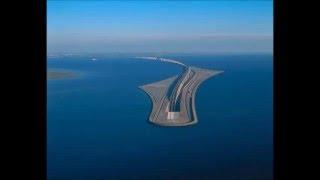 Un puente que se adentra bajo el mar  la fantástica obra de ingeniería que une Dinamarca y Suecia