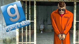Gmod Deathrun Fun - Prison Break! (Garry's Mod Funny Moments)