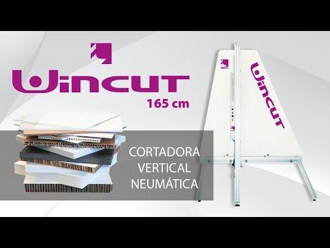 Cortadora vertical neumática WINCUT 165 cm de Inglet Pneumatic Cutter WINCUT 165 cm by Inglet