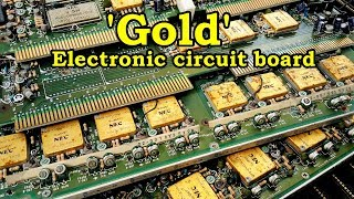 Gold recycle at home from electronic circuit board is a veritable gold mine. How To Recover Gold.