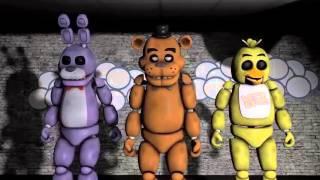 Fnf- noite cinco (musica) animacao