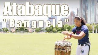 [Capoeira Music] Play Atabaque with the rhythm
