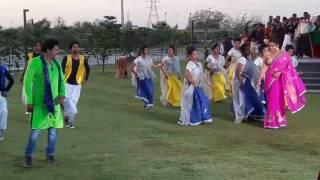 kajal raghwani and khesari lal yadav shooting time in lucknow at janeshwar park