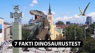 7 Fakti Dinosaurustest