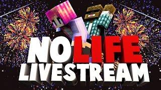 No Life Livestream 2 : Minecraft 2016 !