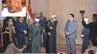 الشعراوى للرئيس السابق حسنى مبارك