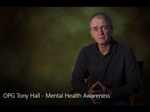 OPG/PWU Tony Hall Mental Health Awareness