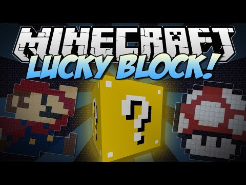 Minecraft | LUCKY BLOCK! (Thousands of Random Possibilities!) | Mod Showcase