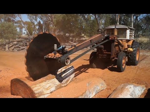 Xxx Mp4 Dangerous Biggest Wood Sawmill Machine Working Extreme Fast Wood Processor Cutting Big Log Easy 3gp Sex