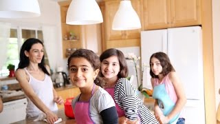 Kids Baking Class with Little Chefs Angela Nairi and Lousin - Heghineh Cooking Show