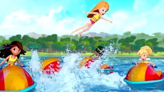 Polly Pocket full episodes | Jet Ski competition | New Episodes - S11 | Kids Movie | Girls Movie